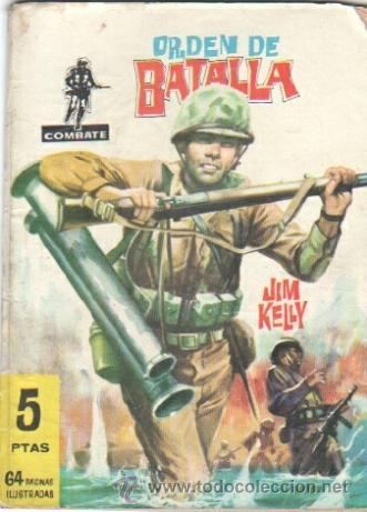 COMBATE Nº 29 EDI. FERMA 1962 - 64 PGS. 16,5 X 11,7 CMS - ORDEN DE BATALLA (Tebeos y Comics - Ferma - Combate)