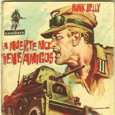 Tebeos: COMBATE Nº 26 EDI. FERMA 1962 - 64 PGS. 16,5 X 11,7 CMS - LA MUERTE NO TIENE AMIGOS. Lote 32339771