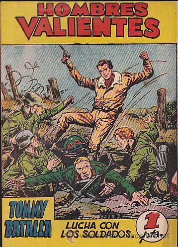 HOMBRES VALIENTES SERIE AMARILLA TOMMY BATALLA Nº 3 (Tebeos y Comics - Ferma - Otros)