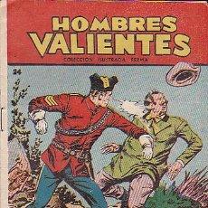 Tebeos: HOMBRES VALIENTES SERIE ROJA DICK DARING Nº 24. Lote 32402889