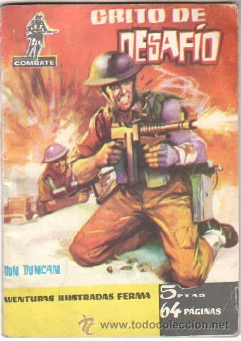 COMBATE Nº 21 EDI. FERMA 1962 - 64 PGS. (Tebeos y Comics - Ferma - Combate)