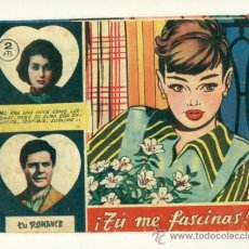 Tebeos: TU ROMANCE SIN NUMERAR DE 2 PTAS. - TU ME FASCINAS - ORIGINAL DE FERMA. Lote 33894408