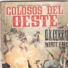 Tebeos: COLOSOS DEL OESTE Nº 1 EDI. FERMA 1964 - O.K.CORRAL - WYATT EARP, 64 PGS.. Lote 33666680