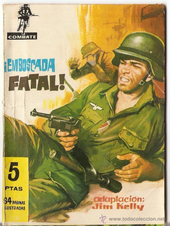 COMBATE. FERMA. 'EMBOSCADA FATAL'. 1962. (Tebeos y Comics - Ferma - Combate)
