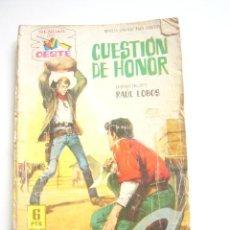 Tebeos: SENDAS DEL OESTE Nº 157 QUESTION DE HONOR EDITORIAL FERMA C33. Lote 33987473