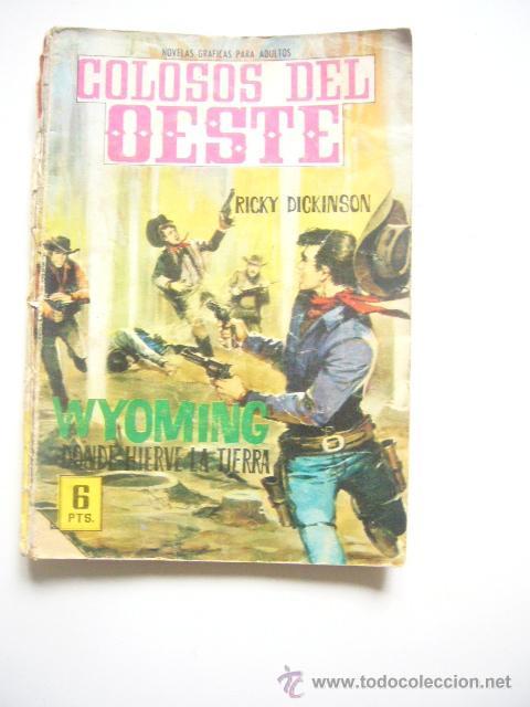 COLOSOS DEL OESTE Nº 77 WYOMING DONDE HIERVE LA TIERRA EDITORIAL FERMA C33 (Tebeos y Comics - Ferma - Colosos de Oeste)