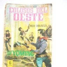 Tebeos: COLOSOS DEL OESTE Nº 77 WYOMING DONDE HIERVE LA TIERRA EDITORIAL FERMA C33. Lote 33987601