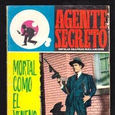 Tebeos: AGENTE SECRETO 36 - MORTAL COMO EL VENENO - NOVELA GRAFICA FERMA. Lote 34125623
