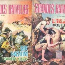 Tebeos: GRANDES BATALLAS EDI. FERMA 1965 - LOTE DE 26 TEBEOS, VER TODAS LAS IMAGENES. Lote 34929596