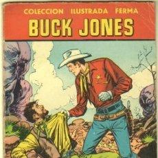 Tebeos: AVENTURAS ILUSTRADAS FERMA Nº 51 1958 - 64 PGS. BUCK JONES - 17,5 X 13 CMS.. Lote 34966193
