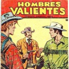 Tebeos: HOMBRES VALIENTES (HONDO) Nº 10. Lote 35072723
