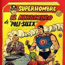 Tebeos: SUPERHOMBRE , Nº 30 B , EL MENSAJERO DE POLI SILEX , FERMA , ORIGINAL ,J. Lote 35346770