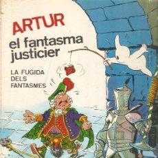 Tebeos: COMIC TAPA DURA EDITADO POR FERMA EN CATALAN ARTUR EL FANTASMA JUSTICIER. Lote 35387807