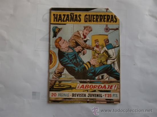 Tebeos: HAZAÑAS GUERRERAS 11 FERMA 11 CUADERNILLOS ORIGINAL - Foto 2 - 35410156