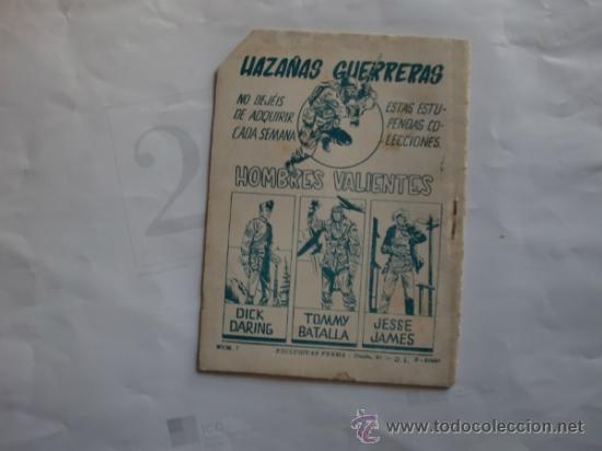 Tebeos: HAZAÑAS GUERRERAS 11 FERMA 11 CUADERNILLOS ORIGINAL - Foto 3 - 35410156