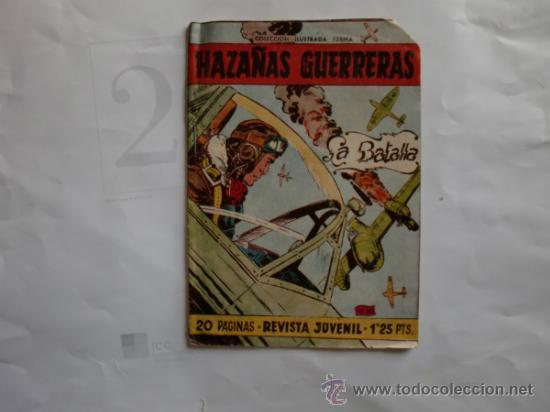 Tebeos: HAZAÑAS GUERRERAS 11 FERMA 11 CUADERNILLOS ORIGINAL - Foto 4 - 35410156