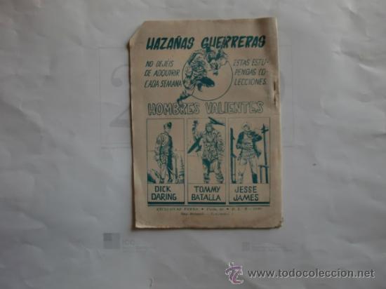 Tebeos: HAZAÑAS GUERRERAS 11 FERMA 11 CUADERNILLOS ORIGINAL - Foto 5 - 35410156