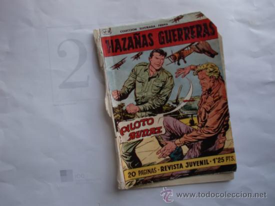 Tebeos: HAZAÑAS GUERRERAS 11 FERMA 11 CUADERNILLOS ORIGINAL - Foto 6 - 35410156
