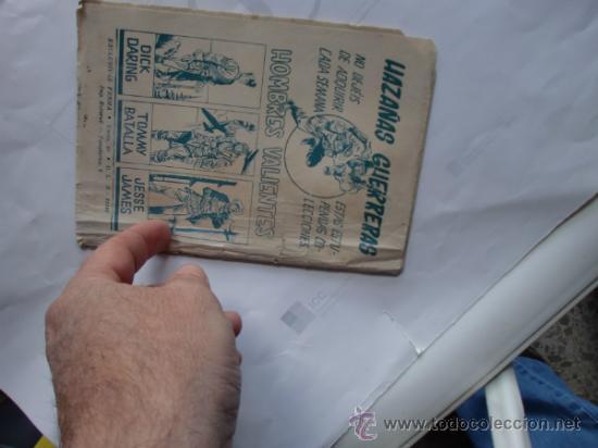 Tebeos: HAZAÑAS GUERRERAS 11 FERMA 11 CUADERNILLOS ORIGINAL - Foto 8 - 35410156