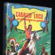 Tebeos: CABALLO LOCO EN EL SENDERO DE LA GUERRA - ILUSTRADO. Lote 35630513