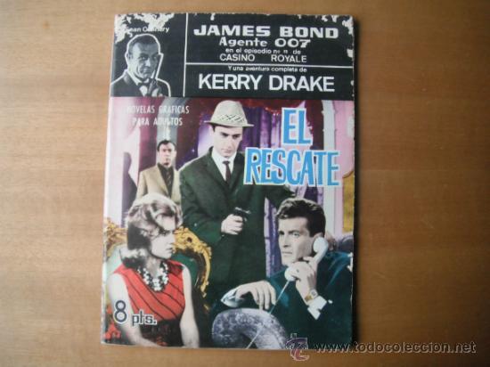 COMIC DE JAMES BOND. AGENTE 007. Y KERRY DRAKE (Tebeos y Comics - Ferma - Otros)