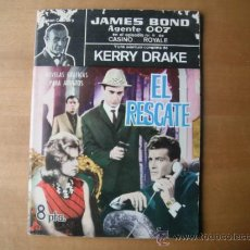 Tebeos: COMIC DE JAMES BOND. AGENTE 007. Y KERRY DRAKE. Lote 36309799