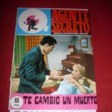 Tebeos: EDICIONES FERMA AGENTE SECRETO NUMERO 34 PROVIENE DE ENCUADERNACION. Lote 36350744
