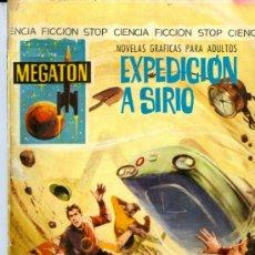 Tebeos: MEGATON Nº 10 - EXPEDICIÓN A SIRIO CIENCIA FICCIÓN 1966. Lote 36519993