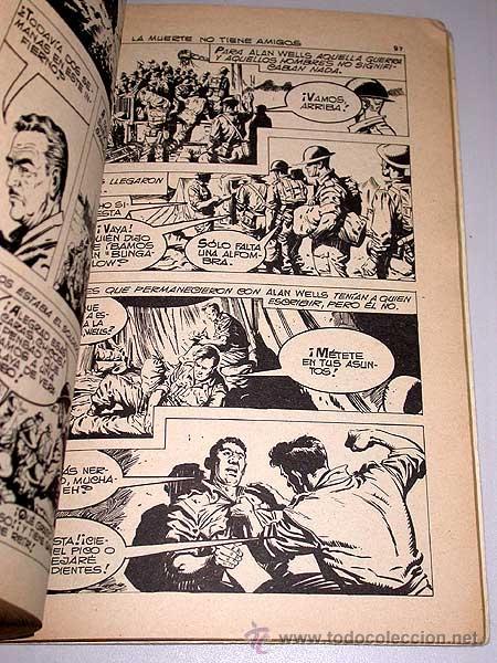 Tebeos: SPY EXTRA Nº 4. EDITORIAL FERMA, 1969. 3 HISTORIETAS COMPLETAS, INTRIGA, BÉLICO, CIENCIA FICCIÓN. - Foto 2 - 36602662