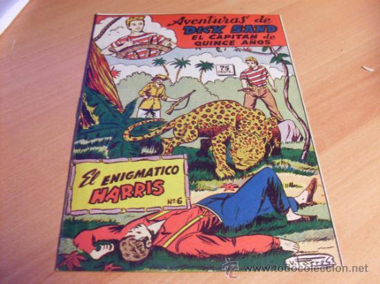 AVENTURAS DE DICK SAND EL CAPITAN DE QUINCE AÑOS Nº 6 (ORIGINAL ED. FERMA ) NUEVO (FER1) (Tebeos y Comics - Ferma - Otros)