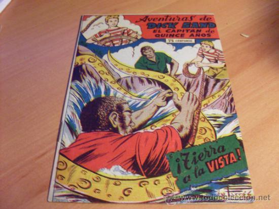 AVENTURAS DE DICK SAND EL CAPITAN DE QUINCE AÑOS Nº 5 (ORIGINAL ED. FERMA ) NUEVO (FER1) (Tebeos y Comics - Ferma - Otros)