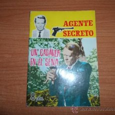Tebeos: AGENTE SECRETO Nº 4 EDITORIAL FERMA 1966 . Lote 48811522