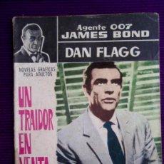Tebeos: TEBEO AGENTE 007 JAMES BOND - Nº 27 - UN TRAIDOR EN VENTA - CASINO ROYALE - DAN FLAGG - FERMA - 1965. Lote 37676119