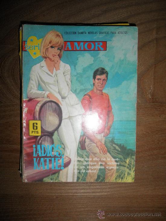 ¡ ADIOS, KATIE ¡ NOVELA GRAFICA PARA ADULTOS. EDITORIAL FERMA, SERIE AMOR Nº 259* (Tebeos y Comics - Ferma - Otros)