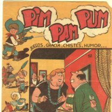 Tebeos: PIM PAM PUM ORIGINAL Nº 12 EDI. FERMA 1957 - POR MARTINEZ OSETE, MUY DIFICIL. Lote 38648224