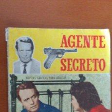 Tebeos: AGENTE SECRETO Nº 9 ** EL HOMBRE QUE MURIO DOS VECES ** FERMA. Lote 38754736