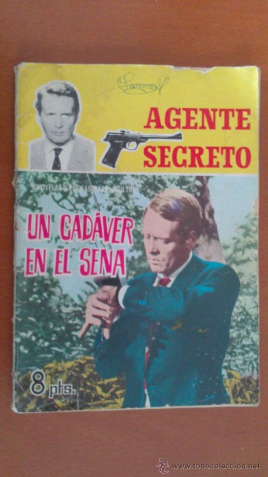 AGENTE SECRETO Nº 4 ** UN CADAVER EN EL SENA ** FERMA (Tebeos y Comics - Ferma - Agente Secreto)