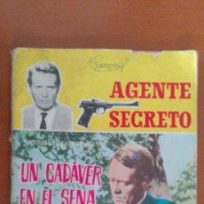 Tebeos: AGENTE SECRETO Nº 4 ** UN CADAVER EN EL SENA ** FERMA. Lote 38754767