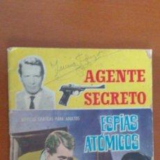 Tebeos: AGENTE SECRETO Nº 3 ** ESPIAS ATOMICOS ** FERMA. Lote 38754785