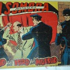 Tebeos: LA SOMBRA JUSTICIERA Nº 33 -- FERMA - ORIGINAL 1956. Lote 38899914
