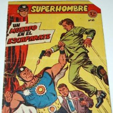 Tebeos: SUPERHOMBRE Nº 18 - FERMA - ORIGINAL 1957. Lote 38991413