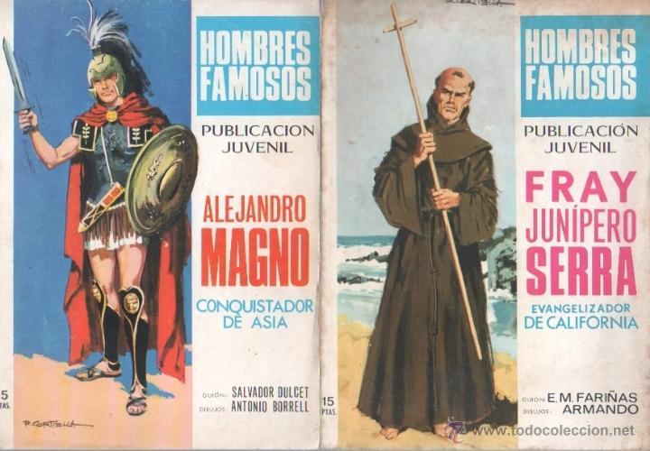 Tebeos: HOMBRES FAMOSOS EDI.TORAY 1968 - 7 TEBEOS, - Foto 3 - 39796275