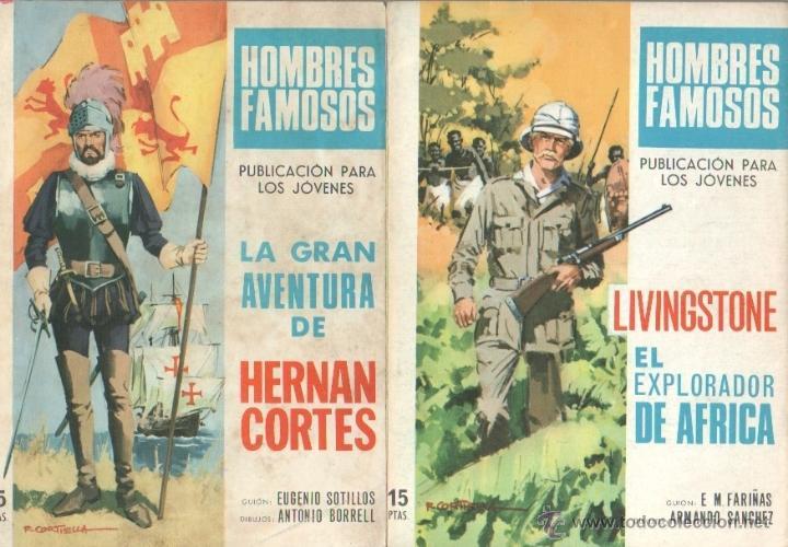 Tebeos: HOMBRES FAMOSOS EDI.TORAY 1968 - 7 TEBEOS, - Foto 4 - 39796275