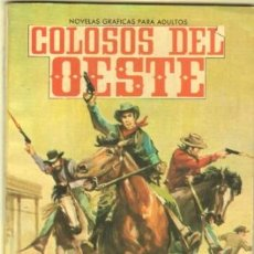 Livros de Banda Desenhada: COLOSOS DEL OESTE Nº 20 EDI. FERMA 1964 - KID CURRY LA CUADRILLA SALVAJE - FOTO SHIRLEY JONES. Lote 39909788