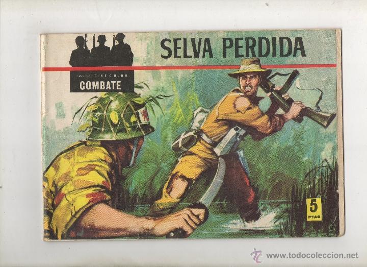 CINECOLOR COMBATE Nº 1 SELVA PERDIDA.FERMA 1963 (Tebeos y Comics - Ferma - Combate)