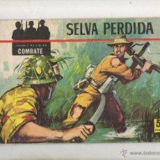 Tebeos: CINECOLOR COMBATE Nº 1 SELVA PERDIDA.FERMA 1963. Lote 39954335