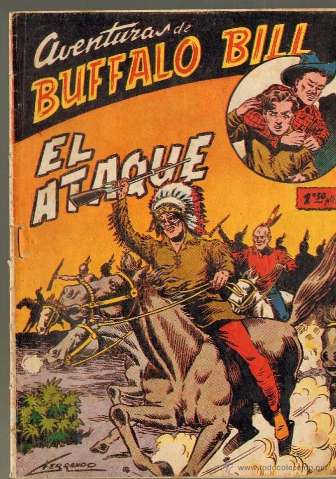 TEBEOS-COMICS GOYO - BUFFALO BILL - Nº 6 - 1955 - FERRANDO (DIABLO DE LOS MARES) *AA99 (Tebeos y Comics - Ferma - Otros)