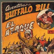 Tebeos: TEBEOS-COMICS GOYO - BUFFALO BILL - Nº 6 - 1955 - FERRANDO (DIABLO DE LOS MARES) *AA99. Lote 40575971