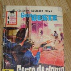 Tebeos: CERCO DE PLOMO - COLECCIÓN ILUSTRADA FERMA - GRAN OESTE -. Lote 40623417