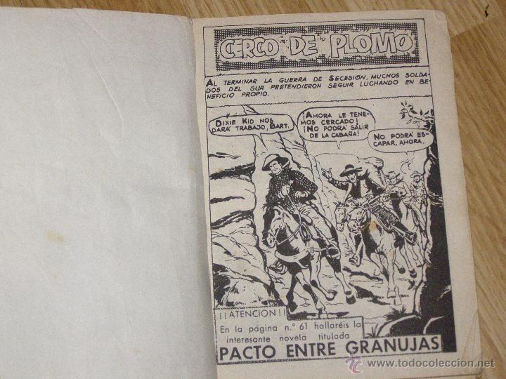Tebeos: Cerco de Plomo - Colección Ilustrada ferma - Gran Oeste - - Foto 2 - 40623417
